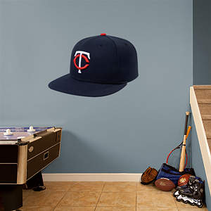 Minnesota Twins Cap Fathead Wall Decal
